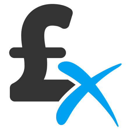 reject: Reject Pound vector icon. Reject Pound icon symbol. Reject Pound icon image. Reject Pound icon picture. Reject Pound pictogram. Flat reject pound icon. Isolated reject pound icon graphic.