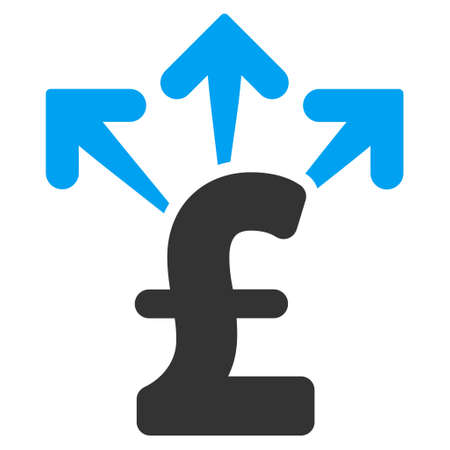spend: Spend Pound Money vector icon. Spend Pound Money icon symbol. Spend Pound Money icon image. Spend Pound Money icon picture. Spend Pound Money pictogram. Flat spend pound money icon.