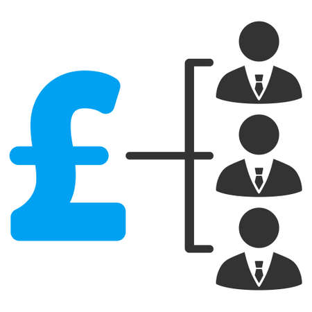 staff team: Staff Pound Payment vector icon. Staff Pound Payment icon symbol. Staff Pound Payment icon image. Staff Pound Payment icon picture. Staff Pound Payment pictogram. Flat staff pound payment icon.