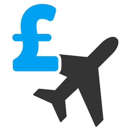 avia: Aviation Pound Business vector icon. Aviation Pound Business icon symbol. Aviation Pound Business icon image. Aviation Pound Business icon picture. Aviation Pound Business pictogram. Illustration
