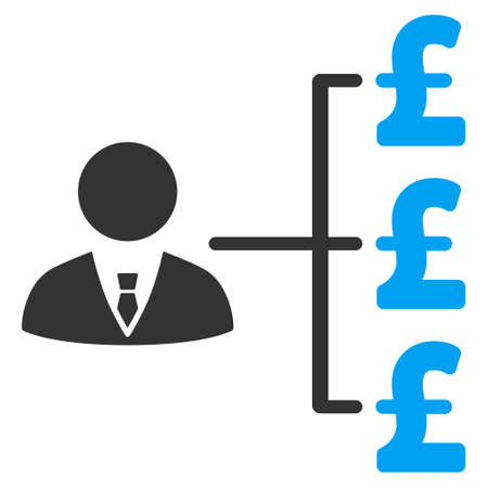 banker: Banker Pound Payments vector icon. Banker Pound Payments icon symbol. Banker Pound Payments icon image. Banker Pound Payments icon picture. Banker Pound Payments pictogram. Illustration