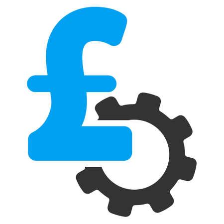 price development: Development Pound Price vector icon. Development Pound Price icon symbol. Development Pound Price icon image. Development Pound Price icon picture. Development Pound Price pictogram.