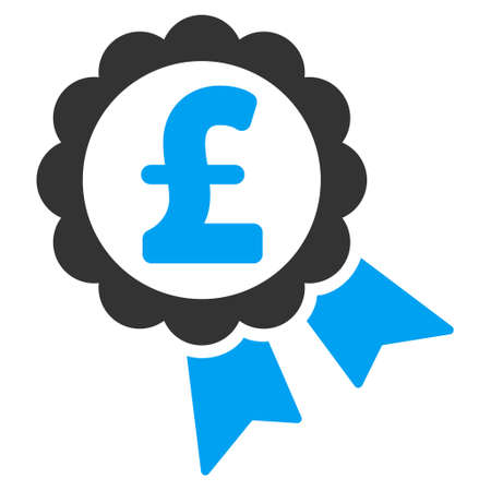 featured: Featured Pound Price Label vector icon. Featured Pound Price Label icon symbol. Featured Pound Price Label icon image. Featured Pound Price Label icon picture. Featured Pound Price Label pictogram. Illustration