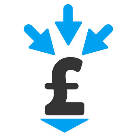 accretion: Integrate Pound Payment vector icon. Integrate Pound Payment icon symbol. Integrate Pound Payment icon image. Integrate Pound Payment icon picture. Integrate Pound Payment pictogram.
