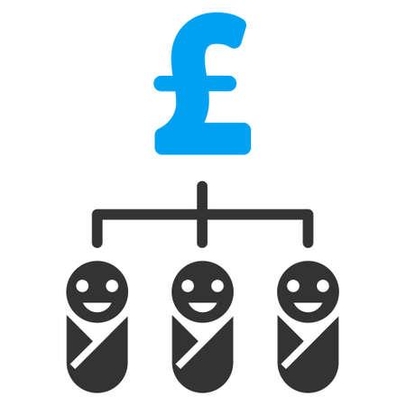 kiddie: Kid Pound Budget vector icon. Kid Pound Budget icon symbol. Kid Pound Budget icon image. Kid Pound Budget icon picture. Kid Pound Budget pictogram. Flat kid pound budget icon.