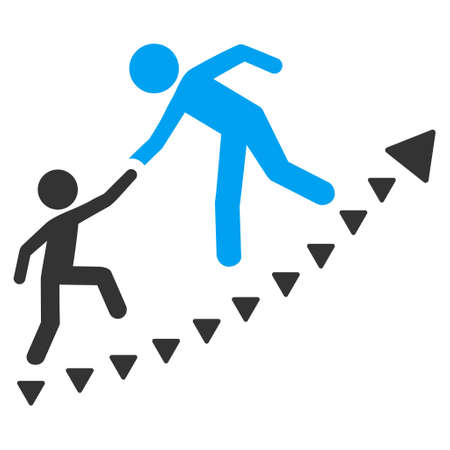 co operation: Education Progress vector icon. Education Progress icon symbol. Education Progress icon image. Education Progress icon picture. Education Progress pictogram.
