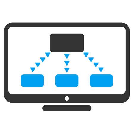 jerarquia: Jerarqu�a icono de Monitoreo de la trama. Jerarqu�a s�mbolo Monitoreo icono. Monitoreo imagen icono de jerarqu�a. Jerarqu�a de im�genes Vigilancia icono. pictograma Monitoreo jerarqu�a.