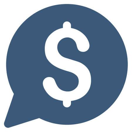 bid: icono de la subasta. estilo glifo es símbolo icónico plana con ángulos redondeados, de color azul, fondo blanco.