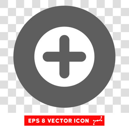 firstaid: Create round icon. Vector EPS illustration style is flat iconic bicolor symbol, white and silver colors, transparent background.