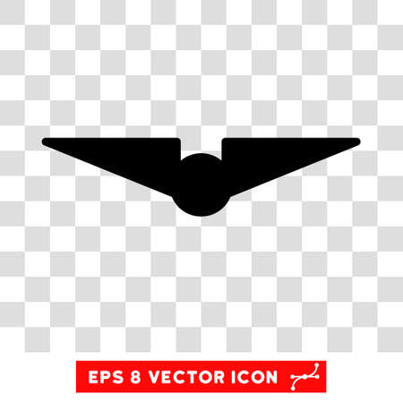 air liner: Vector Aviation EPS vector icon. Illustration style is flat iconic black symbol on a transparent background. Illustration