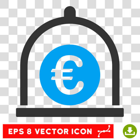 preservative: Vector Euro Standard EPS vector pictograph. Illustration style is flat iconic bicolor blue and gray symbol on a transparent background.