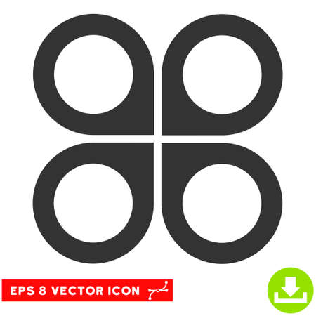 airflight: Air Drone EPS vector icon. Illustration style is flat iconic gray symbol on white background.