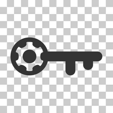 Key Options Rounded Icon Style Is A Flat Key Options Grey Symbol