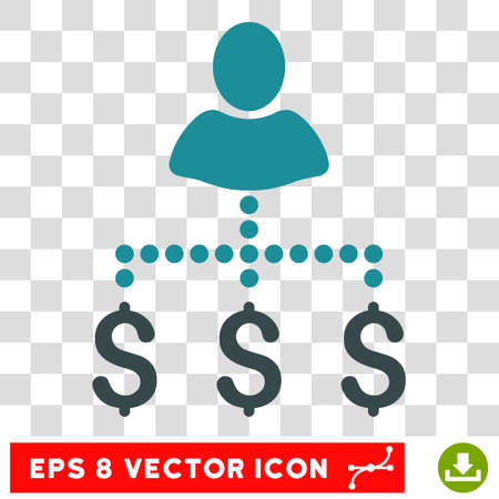 payer: Person Payments vector icon. Image style is a flat soft blue pictograph symbol.