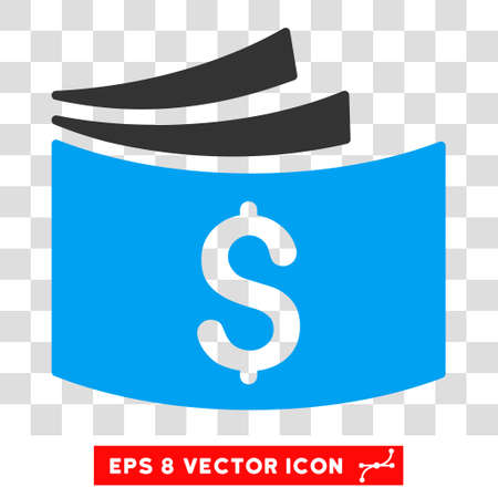 checkbook: Checkbook EPS vector pictogram. Illustration style is flat iconic bicolor blue and gray symbol on white background.