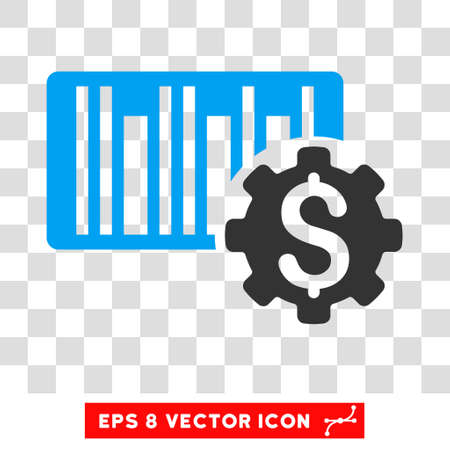 barcode price setup eps vector icon illustration style is flat