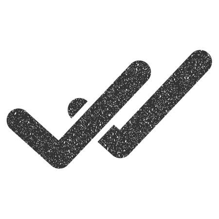 validation: Validation rubber seal stamp watermark. Icon glyph symbol with grunge design and dirty texture. Scratched gray ink emblem on a white background.