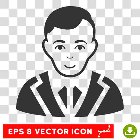 Noble EPS vector pictograph. Illustration style is flat iconic gray symbol on chess transparent background.
