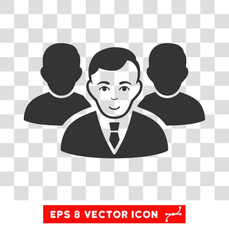 eps vector icon: Team EPS vector icon. Illustration style is flat iconic gray symbol on chess transparent background.