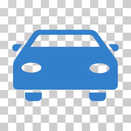 cobalt: Car vector icon. Illustration style is flat iconic cobalt symbol on a transparent background. Illustration