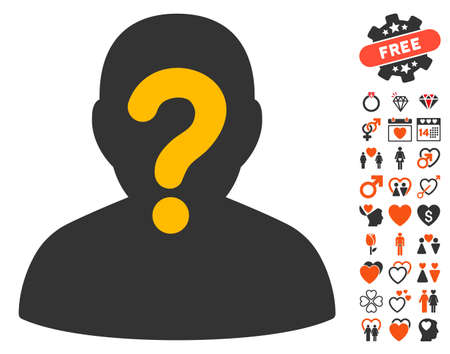 unnamed: Anonymous icon with bonus amour pictograph collection. Vector illustration style is flat iconic elements for web design, app user interfaces.