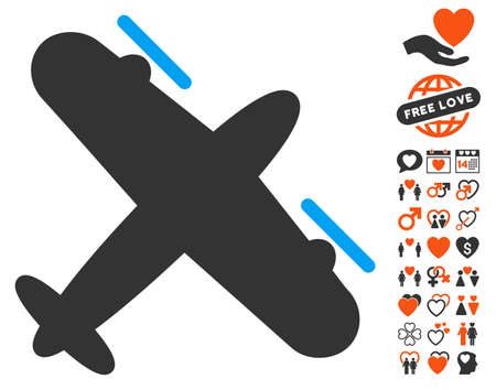 Airplane dating app