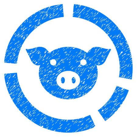 Grunge Pig Diagram Rubber Seal Stamp Watermark Icon Symbol With