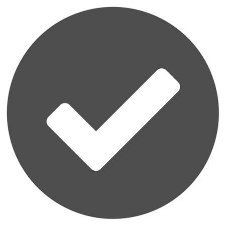 valid: Yes vector pictograph. Illustration style is a flat iconic grey symbol on a white background.