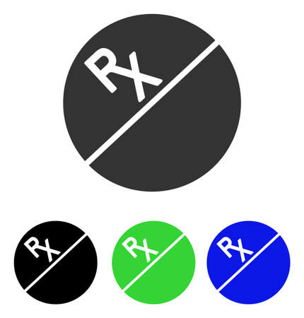 Tablet vector pictograph. Illustration style is a flat iconic colored symbol with different color versions.