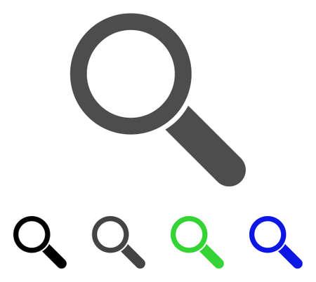 Search tool flat icon. Çizim
