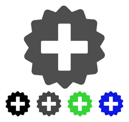 new addition: Create flat vector pictogram. Colored create, gray, black, blue, green pictogram variants. Flat icon style for application design. Illustration