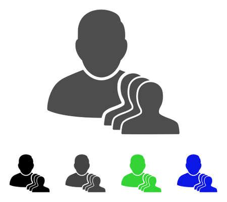 ユーザーのポーンはベクトル絵文字です。スタイルは、黒、グレー、青、緑のカラー バリエーションでフラット グラフィック シンボルです。ウェ