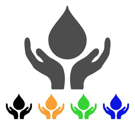 leak: Blood Donation Hands vector pictogram. Style is a flat graphic symbol in grey, black, yellow, blue, green color variants. Designed for web and mobile apps. Illustration