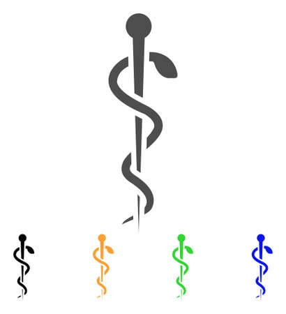 Medical Needle vector icon. Style is a flat graphic symbol in gray, black, yellow, blue, green color versions. Designed for web and mobile apps.