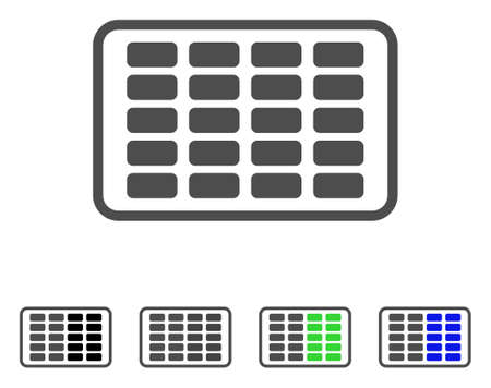 prophylactic: Contraceptives Blister icon. Vector illustration style is a flat iconic contraceptives blister symbol with black, gray, green, blue color versions. Designed for web and software interfaces.