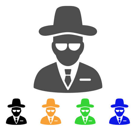 Set of agent icons.
