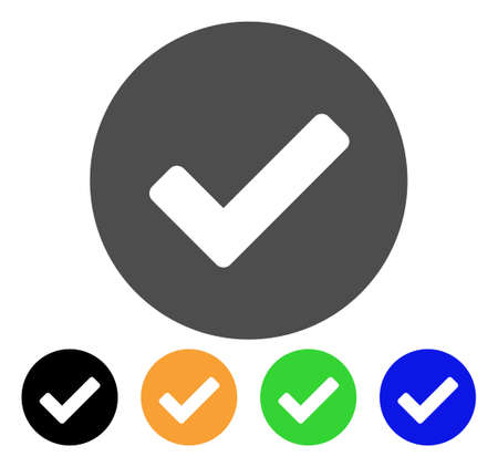 Set of check icons.
