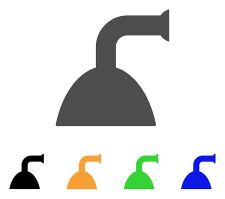 Shower Head Icon Vector Illustration Style Is A Flat Iconic