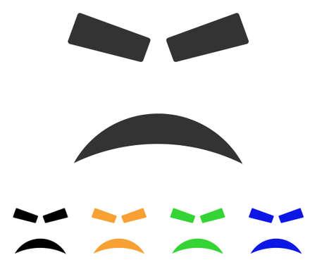 Furious icon Illustration