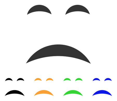 Sadness icon Ilustrace
