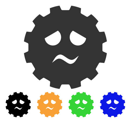 gears: Pity Smiley Gear icon.
