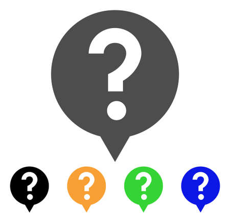 Help Balloon icon. Vector illustration style is a flat iconic help balloon symbol with black, grey, green, blue, yellow color variants. Designed for web and software interfaces. 向量圖像