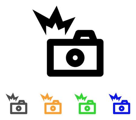 Camera flash icoon.