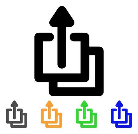 Uploads icon.