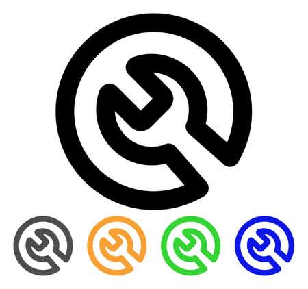 Install icon. Illustration