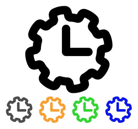 Time setup icon.
