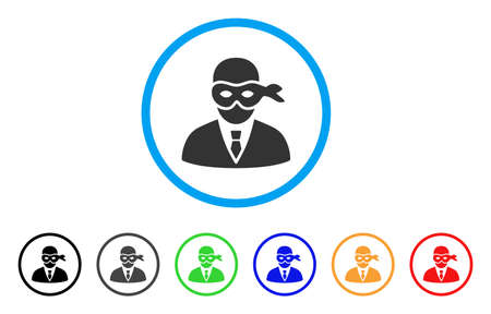 private security: Masked Thief icon.