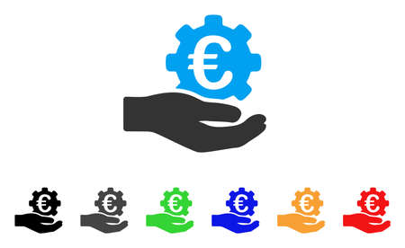 Euro Gear Service Hand icon.