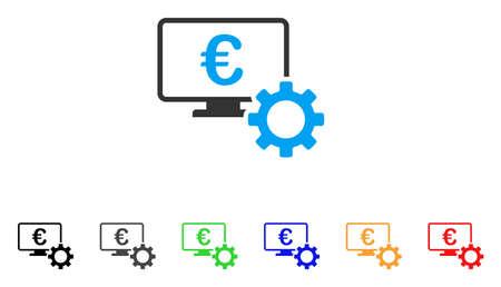 monitor: Euro Online Bank Configuration icon.