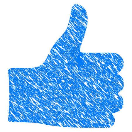 Grunge Thumb Up icon